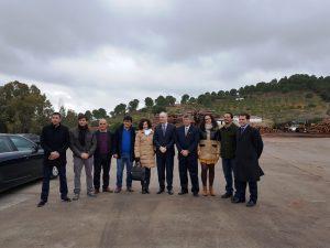 Aserraderos de villaviciosa presidente parlamento andaluz